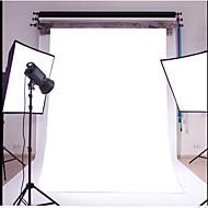 3x5ft obyčejný bílý tenký vinyl fotografování pozadí studio prop fotografie pozadí