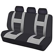 2017 univerzális autó üléshuzatok fekete szürke színű hátsó üléshuzatok