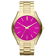 Women's Kids' Dress Watch Fashion Watch Wrist watch Quartz Stainless Steel Band Charm Cool Casual Silver Gold Rose GoldGold Silver