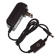 EU / US / UK / AU Plug 12V 2A Touch LED Dimmer Control Switch  Supply Adapter 5.5 x 2.1MM  AC100-240V