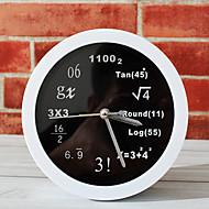 Moderne/Contemporain Nautique Horloge murale,Nouveauté Acrylique Métal 12 Intérieur Horloge