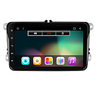 8 1080p 1024 * 600 quad core android 6.01 bilradio audio gps navigation til golf 5 6 polo Jetta Touran eos passat Tiguan Sharan