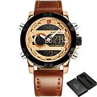 NAVIFORCE Luxury Brand Men Sport Watches Men's Quartz Digital Clock Man Casual Military Waterproof Wrist Watch relogio masculino