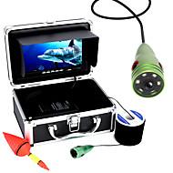 Mountainone 30m 1000tvl水中釣りビデオカメラ6個のLEDライト7インチカラーモニター