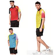 Set di vestiti/Completi-Badminton-Unisex-Traspirante Comodo-Nero