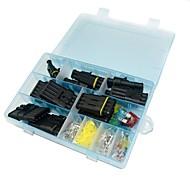 Wasserdichter elektrischer Anschlusskasten-Set - 1 bis 6-fach und Klinge Sicherung