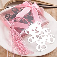Baby Shower  Favor Silver-Metal Bookmark Beter Gifts® Birthday Party Keepsakes