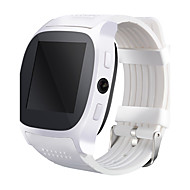 smartur t8 klokke med SIM-kortspor 2,0 mp kamera push-melding bluetooth tilkobling Android-telefon Smartwatch t8