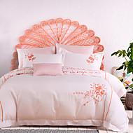 turqua LOVE LETTER Micro Fab Cotton Embroidered Classic Bedding Set Duvet Cover Comforter Case Pillowcase Flat Sheet