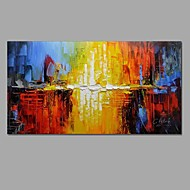 Hand Painted Modern Abstract Art Oil Paintings On Canvas With Stretched Frame Ready To Hang