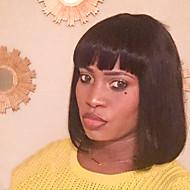 vakre komfortabel bobo hår menneskelig hår parykk for kvinner
