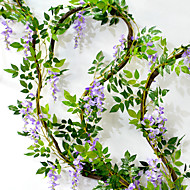 1 ramură Flori Uscate Azalee Flori Perete Flori artificiale