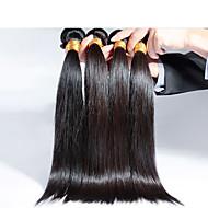 Brazilski ravna kosa, 4 kom / puno Besplatna dostava Brazilski kosu veleprodaja distributeri