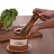 1 Pças. Pimenta Moedor For Other Aço Inoxidável Cerâmica Metal Madeira Alta qualidade Gadget de Cozinha Criativa