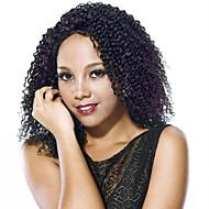 nova chegada cabelo humano peruca cheia do laço cor natural jerry curl peruca 150% parte integral glueless lado densidade com peruca bebê