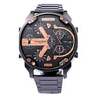 Men's Sport Watch Military Watch Dress Watch Fashion Wrist Watch Unique Creative Watch Casual Watch Quartz Large Dail Strap Watch