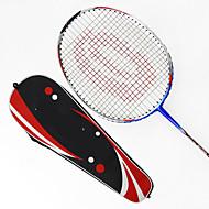 バドミントンラケット 防水 耐久性 安定性 アルミ合金カーボン 1個 のために 屋外 性能 練習 レジャースポーツ