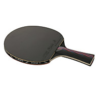 Ping Pang/Tischtennis-Schläger Ping Pang Carbon Faser Langer Griff Pickel 1 Schläger 3 Tischtennisbälle 1 Tischtennistasche