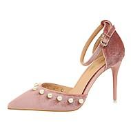 Femme-Mariage Habillé Soirée & Evénement-Gris Vert Rose Bourgogne Champagne-Talon Aiguille-Confort club de Chaussures-Sandales-Daim
