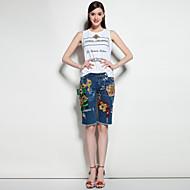 mary.yan&yusuits pasningstypen jakke kunstsilke jakke knapper stoff mønster antall brikker fargejakkelommer bukse folder jakke indre