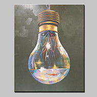 Ručně malované Zátiší Vertikálně,Moderní evropský styl Jeden panel Plátno Hang-malované olejomalba For Home dekorace