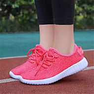 Oxford-kengät-Matala korko-Naiset-Tyll-Valkoinen Punainen Sininen-Rento-Comfort