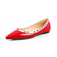 διαμερίσματα των γυναικών άνοιξη φθινόπωρο παπούτσια club άνεση pu γραφείου&καριέρα περιστασιακή πριτσίνια κατάσπαρτος