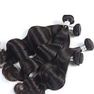4 kom / puno Vrh stupnja peruanski djevica dlačica val, djevica peruanski tijelo val kose