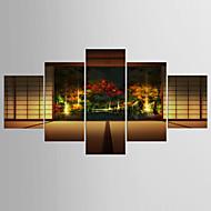 Taideprintit Kuuluisa Moderni Classic,5 paneeli Kanvas Mikä tahansa muoto Tulosta Art Wall Decor For Kodinsisustus