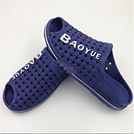 メンズ サンダル 穴の靴 ラバー 春 カジュアル ウォーキング コンビ フラットヒール ブラック Brown ブルー フラット