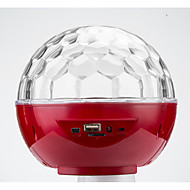 LED-Floodlights Magic LED Light Ball Party Disco Club DJ Toon Lumiere LED Crystal Light Laser Projector 6W - - - Automatische strobe MP3
