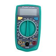 Multímetro digital prokits® mt-1233d-c medidor de teste de ohm / volt de auto-medição multi tester com display lcd de retroiluminação