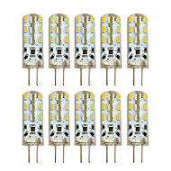 2W G4 LED à Double Broches T 24 SMD 3014 100-200 lm Blanc Chaud Blanc Froid AC 100-240 DC 12 V 10 pièces
