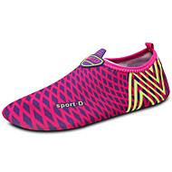 Kvinners loafere&Slip-ons vår sommer komfort par sko lys såler stoff utendørs fuchsia oppstrøms sko
