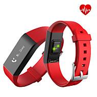 Okos karkötőVízálló Hosszú készenléti idő Elégetett kalória Lépésszámlálók Sportok Egészségügy Szívritmus monitorizálás Érintőképernyő