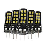 3W G4 LED Bi-pin světla 16 SMD 2835 200-300 lm Teplá bílá Přirozená bílá Bílá Ozdobné V 5 ks