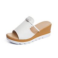 Damen-Loafers & Slip-Ons-Outddor Kleid Lässig-Kunstleder-Creepers-Creepers-