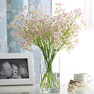 6 6 Větev PU Realitní touch Dětský dech Květina na stůl Umělé květiny