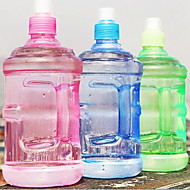 2 stk plast bærbar vannkoker vannflaske 500 ml