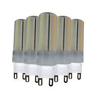 6W G9 LED Φώτα με 2 pin T 136 SMD 3014 500-600 lm Θερμό Λευκό Φυσικό Λευκό Άσπρο Με Ροοστάτη Διακοσμητικό V 5 τμχ