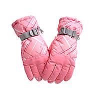 Ski-Handschuhe Damen Herrn Sporthandschuhe warm halten Wasserdicht Windundurchlässig Atmungsaktiv Schweißtransportierend Schützend