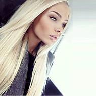 Parrucche vergini brasiliane del merletto dei capelli di grado 9a dritto diritto 613 parrucche dei capelli umani del fronte del merletto
