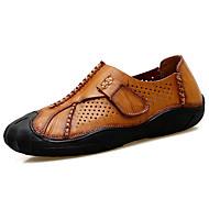 Herre-Nappa Lær-Flat hæl-Komfort-Oxfords-Friluft-
