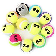 Игрушка для собак Игрушки для животных Шарообразные Жевательные игрушки Мячи для тенниса Губка