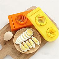 1 ks Cutter & Slicer For pro Egg Plast Vysoká kvalita Tvůrčí kuchyně Gadget Zábavné