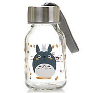 145 ml mini handige reis glazen fles cartoon water