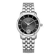 Dames Modieus horloge mechanische horloges Automatisch opwindmechanisme Roestvrij staal Band Wit Goud Goud Rose