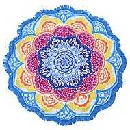 Indischen Mandala Strand Handtuch großen Lotus Druck Handtuch Strand runden Pool Hause Dusche Handtuch Decke 150cm