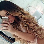 stín T1b / 4/27 krajky přední lidské vlasy paruky volná vlna 150% hustoty brazilské panenských vlasy Glueless krajkové paruky pro ženy