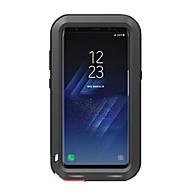 Varten Iskunkestävä Vedenkestävä Etui Kokonaan peittävä Etui Yksivärinen Kova Metalli varten Samsung S8 S8 Plus
